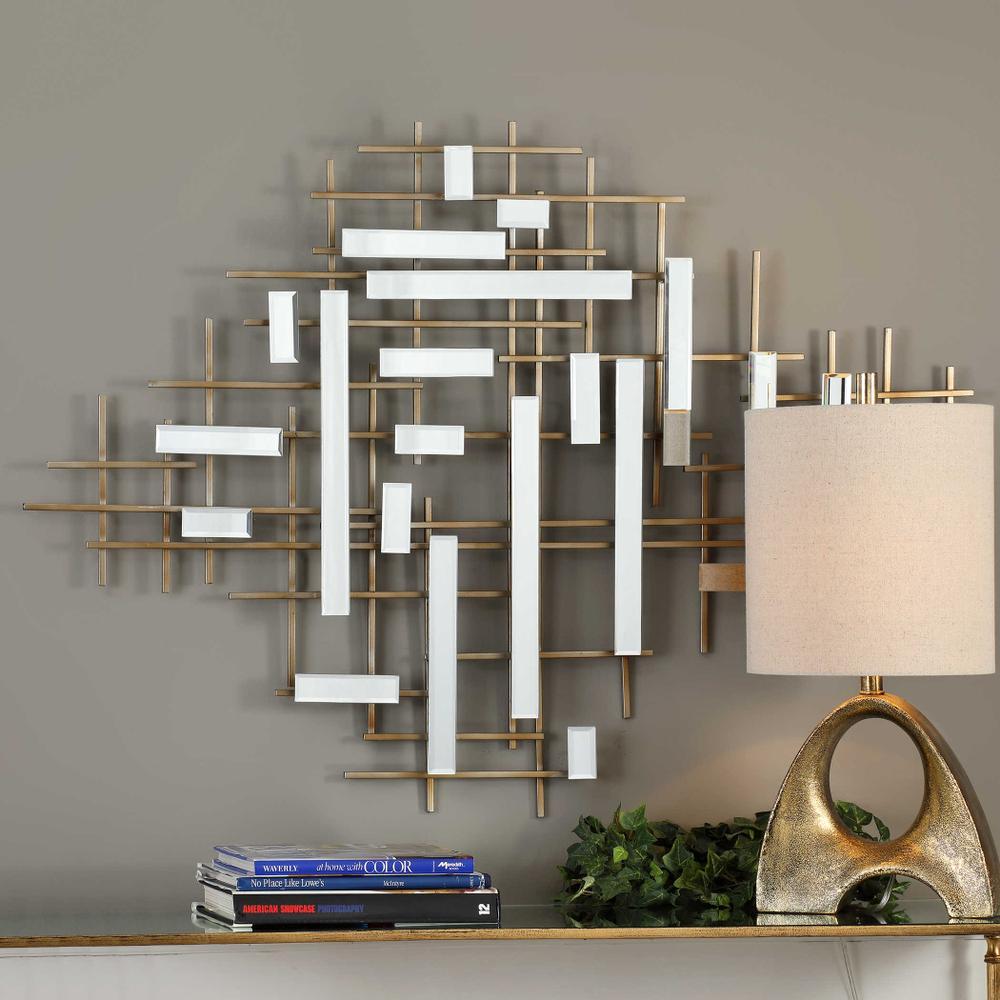 See Details - Apollo Mirrored Wall Decor