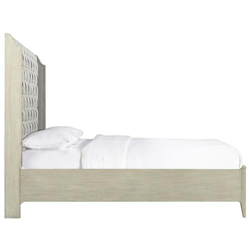 Lilly - King/california King Panel Footboard - Champagne Finish