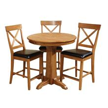 Family Dining Pedestal Gathering Base