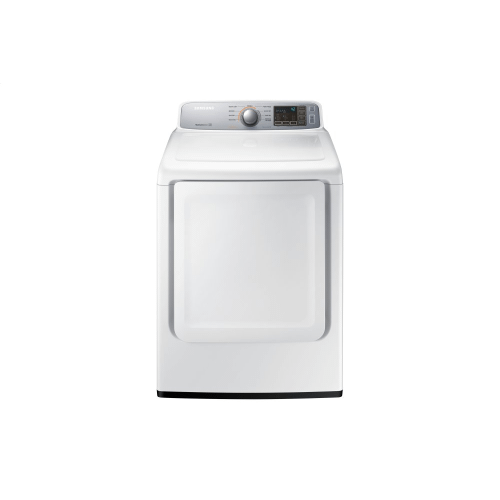 Samsung Canada - 7.4 cu.ft. Electric Dryer with Sensor Dry in White