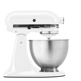 Classic Plus™ Series 4.5 Quart Tilt-Head Stand Mixer - White