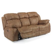 See Details - Como Fabric Power Reclining Sofa
