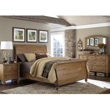 View Product - King Sleigh Bed, Dresser & Mirror, NS