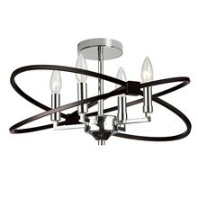 4lt Incandescent Semi Flush, PC and Mb