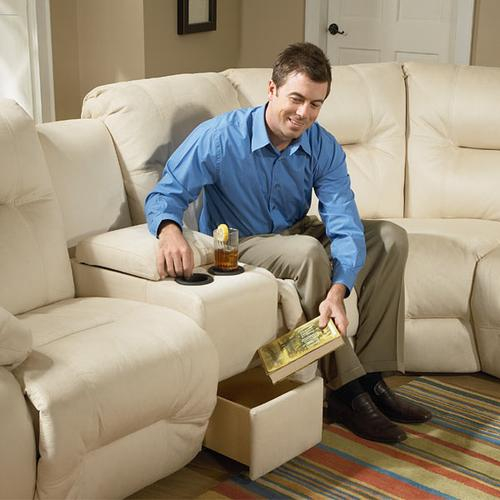 BRINLEY SECTIONAL Reclining Sectional