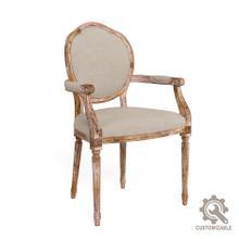 Louis Xvi Round Arm Chair Frame