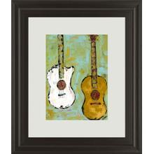"""Six Strings IIl"" By Deann Herbert Framed Print Wall Art"