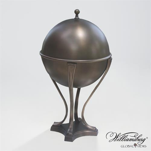 Orb Ice Bucket-Light Bronze