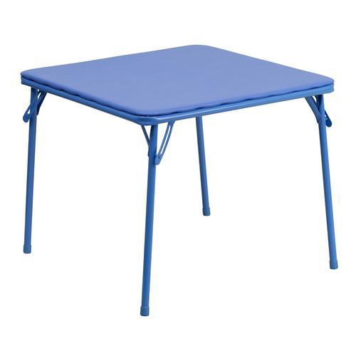 Flash Furniture - Kids Blue Folding Table