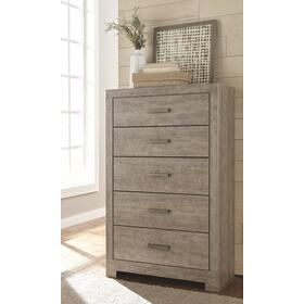 Culverbach Five Drawer Chest Gray