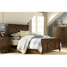 Big Sur by Wendy Bellissimo Highland Panel Bedroom Set