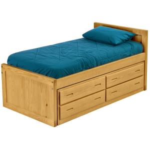 Captain's Bed Drawer Set, Double