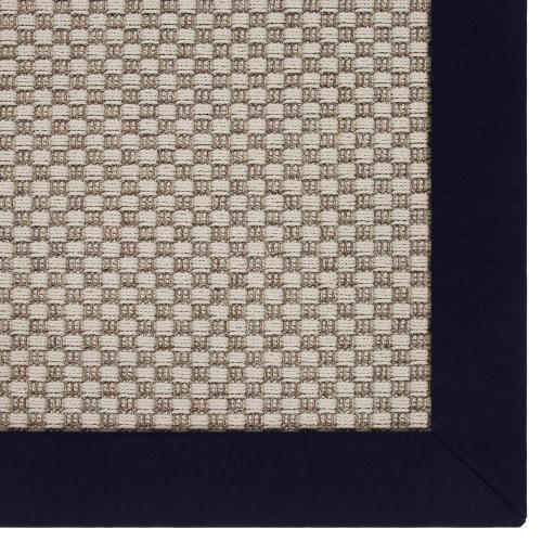 Tamarindo Grey 3'x5' / Sunbrella Border