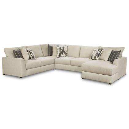 See Details - 9918 Schafer Four Piece Sectional with Chaise