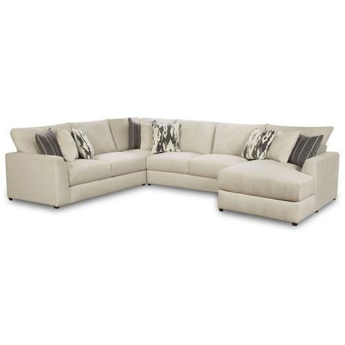 Gallery - 9918 Schafer Four Piece Sectional with Chaise