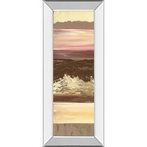 """""""Down Under I"""" By Dlynn Roll Mirror Framed Print Wall Art"""
