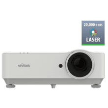Full 1080p laser projector with high brightness, a full suite of displays ports, and long life ideally suite for meeting room installation venues