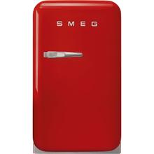 Retro-Style Mini Refrigerator, Right-hand hinge, Red
