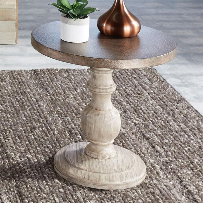 Round End Table Base
