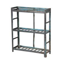 Old Iron Kitchen Rack