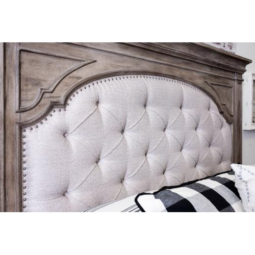 Steve Silver Co. - Highland Park Queen Bed, Waxed Driftwood