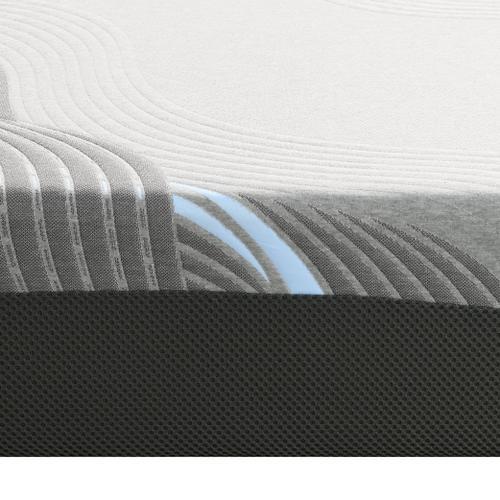 "Emerald Home Furnishings - Twilight 8"" Twin XL Mattress, Cosmos Gray Es5208txlm-01"