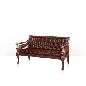 Theodore Alexander - Classical Revival Chesterfield, Cream Ostrich