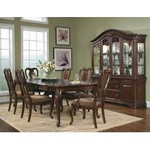 Heritage Court Leg Dining Room & Queen Anne Chairs