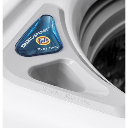 GE® 5.0 cu. ft. Capacity Smart Washer with SmartDispense