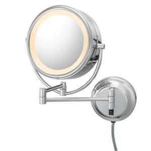 Kimball & Young - Chrome Double-Sided LED Lighted Mirror