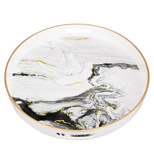 S/2 Quinn Trays Black-White