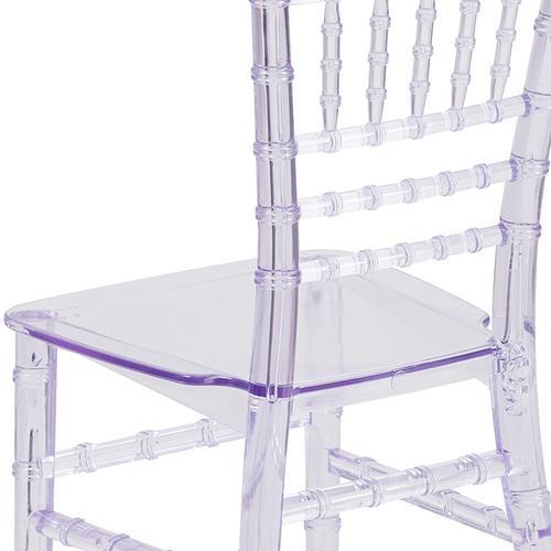 Flash Furniture - Kids Crystal Transparent Chiavari Chair