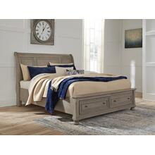 Lettner King/california King Storage Footboard