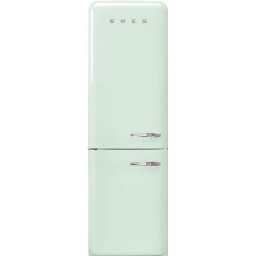 "'50s Style No Frost' Fridge-Freezer, Pastel Green, Left Hand Hinge, 60 cm (Approx 24"")"