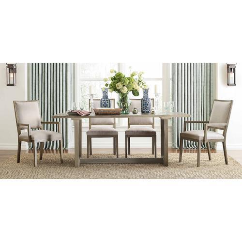 Bassett Furniture - Liam Oak Rectangle Dining Table