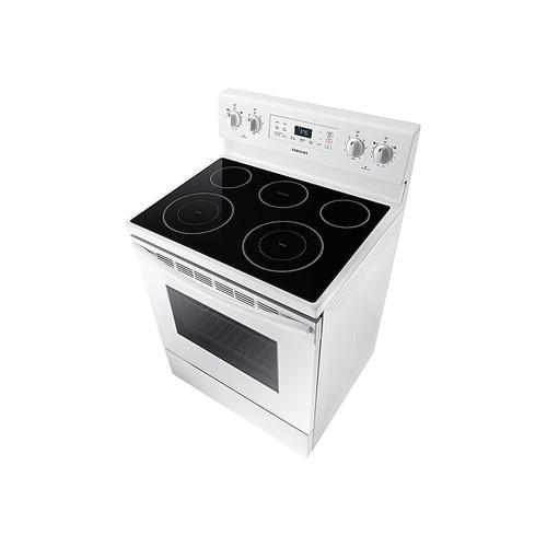 5.9 cu. ft. Freestanding Electric Range with Two Dual Power Elements in White