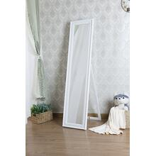 7057 WHITE Full Length Standing Mirror