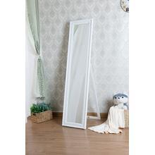 See Details - 7057 WHITE Full Length Standing Mirror