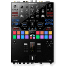 Scratch style 2-channel DJ mixer for Serato DJ Pro/rekordbox (black)