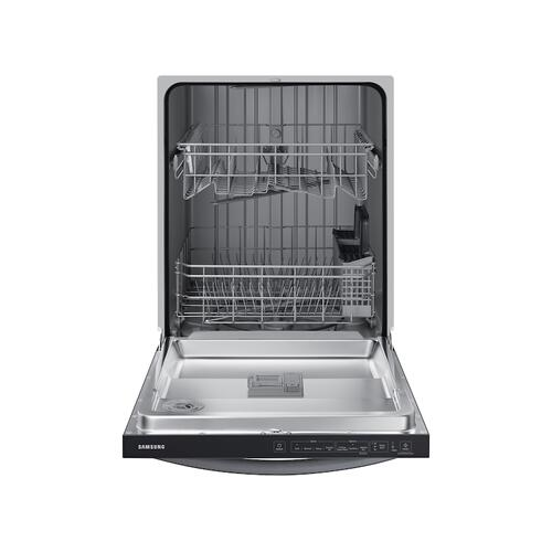 Digital Touch Control 55 dBA Dishwasher in Black