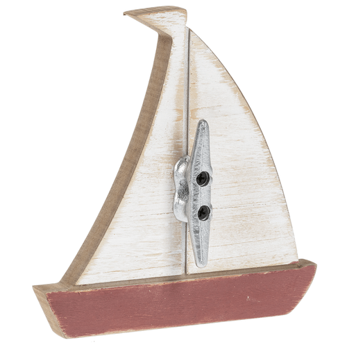 Sail Boat with Cleat Hanger (6 pc. ppk.)