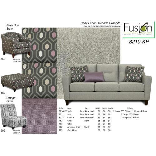 Fusion Furniture - Sofa