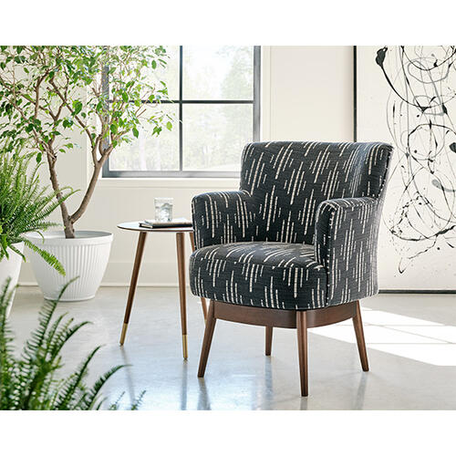 KELIDA Swivel Barrel Chair