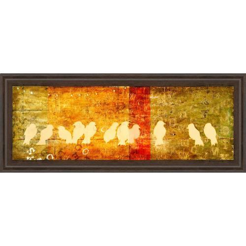 "Classy Art - ""Reunion"" By Patricia Pinto Framed Print Wall Art"