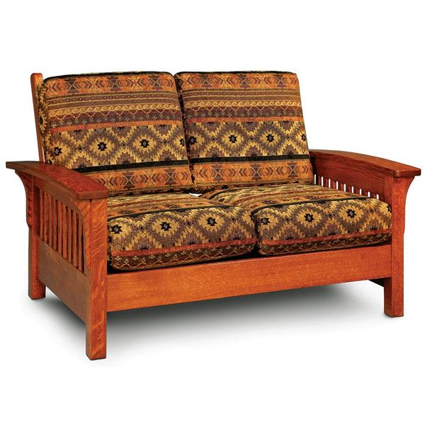 See Details - Grand Rapids Loveseat, Recliner / Fabric Cushions