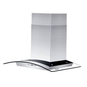 Zline KitchenZLINE Convertible Vent Wall Mount Range Hood in Stainless Steel & Glass (KZ) [Size: 30 inch]