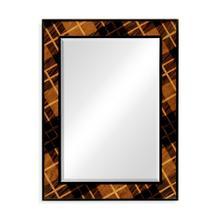 Hand inlaid Tartan mirror (wall hanging)