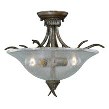 "Monterey 16-1/2"" Semi-Flush Mount Autumn Patina"