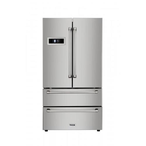 Stainless Steel French Door Refrigerator - Display