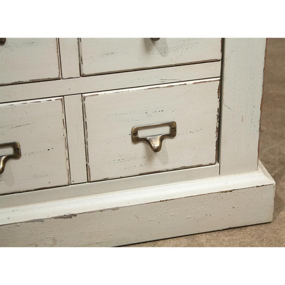 Riverside - Huntleigh - Two Drawer Nightstand - Vintage White Finish